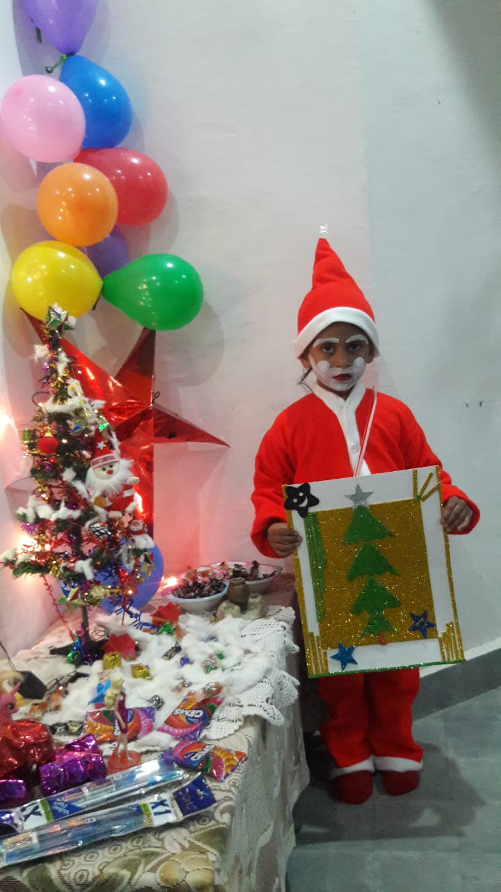 CHRISTMAS CELEBRATION LKG B  ON 22-12-2020